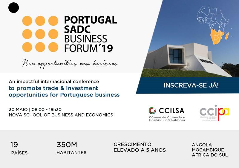 FÓRUM PORTUGAL – SADC, Lisboa, 30 de maio