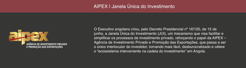 AIPEX | Janela Única do Investimento